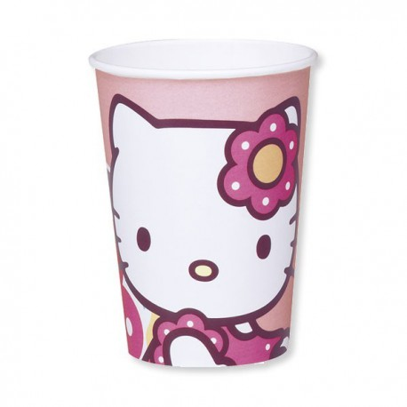 Bicchieri Hello Kitty Bamboo 200ml 10pz
