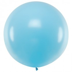 Pastel Light Blue Giant Balloon 100cm
