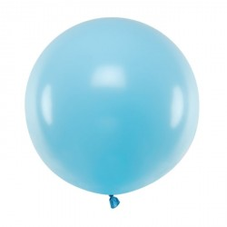 Pastel Light Blue Big Balloon 60cm