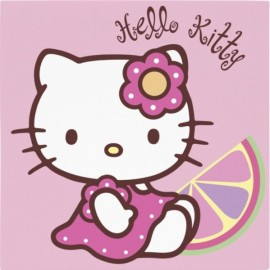 Hello Kitty Bamboo Lunch Napkins