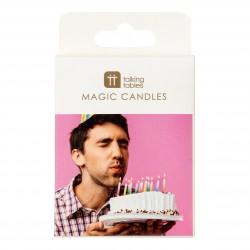 """Set candeline """"magiche"""" multicolorate"""