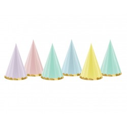 Pastel Party Hats