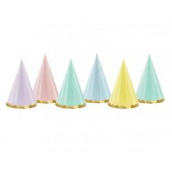 Cappellini festa colori Pastello