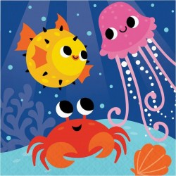 Sea Animals Party Napkins