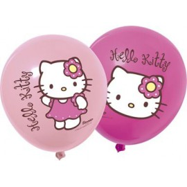 Palloncini Hello Kitty Bamboo 12pz