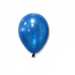 Metallic Blue Standard Balloons 5pc