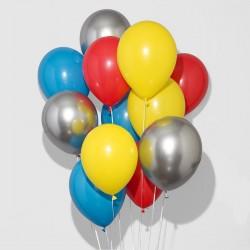Superhero Party Balloons Bunch