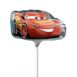 Cars Saetta MiniShape Foil Balloon