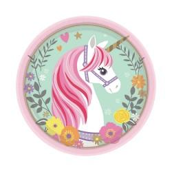 Magical Unicorn Dessert Plates