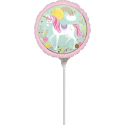Magical Unicorn Minishape Foil Balloon