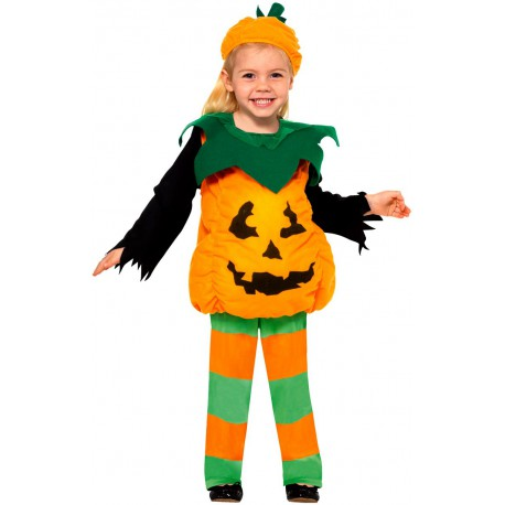 Costume Piccola Zucca 3-4 anni