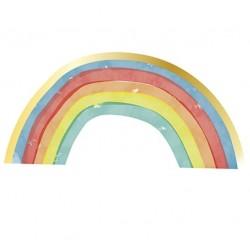Rainbow Pastel Shaped Napkins