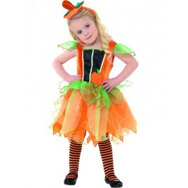 Pumpkin Fairy Costume 3-4 years