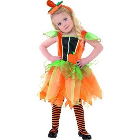 Costume Fatina Zucca 3-4 anni