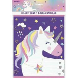 Unicorn Rainbow Loot Bags