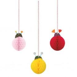 Ladybug Hanging Decorations