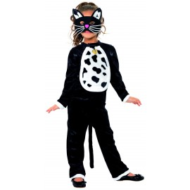 Costume Gattina 4-6 anni