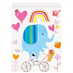 Baby Zoo Favor Bags