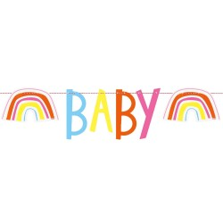 Baby Zoo Banner for Baby Shower parties