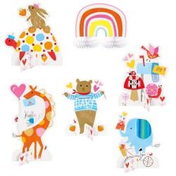 Baby Zoo Centerpiece Decoration Set