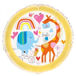 Baby Zoo Foil Balloon