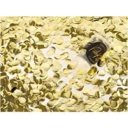 Confetti push pop Gold foil
