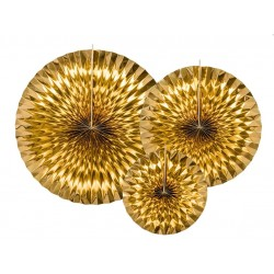 Golden Foil Decorative Pendants