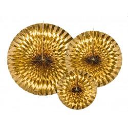 Pendenti Rosette Oro Foil