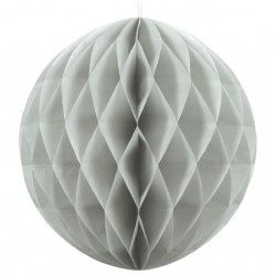Light Grey Honeycomb Ball
