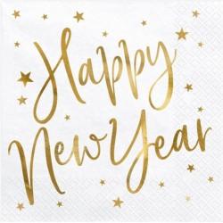 Napkins Happy New Year