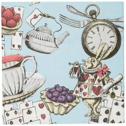 Alice in Wonderland Cocktail Napkins