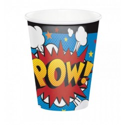 Superhero Party Paper Cups