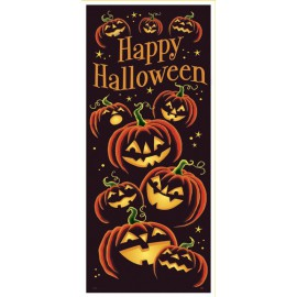 Halloween Pumpkins Door Decoration