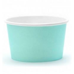 Turquoise Ice cream cups