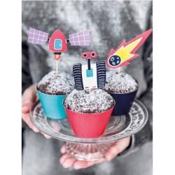 Kit Cupcake Festa tema Spazio
