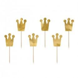 Set Topper Coroncine Principesse