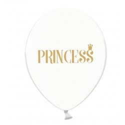 """Princess"" Crystal Clear Balloons"