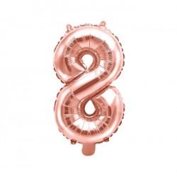 8 Rose Gold Foil Balloon