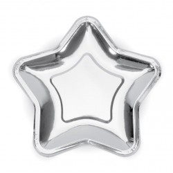 Silver Star Plates