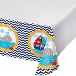 Sailor theme party plastic Tablecover