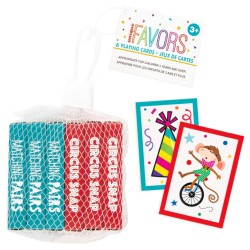 Mini playing cards - party favor