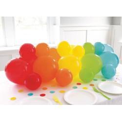 Rainbow Balloons Table Decoration Kit