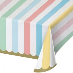 Pastel and Gold Foil Tablecover
