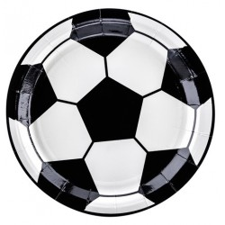 Plates Football Party