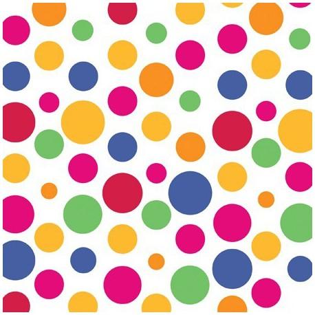 Tovaglioli Party Dots 33x33cm 16pz
