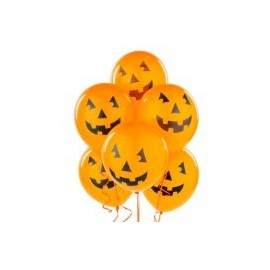Halloween Pumpkin Latex Balloons