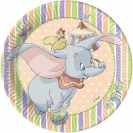 Tinkerbell Dessert Plate 18cm 8pz