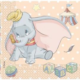 Tovaglioli Dumbo 23cm 10pz