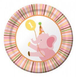 Sweet at One Girl Dessert Plates