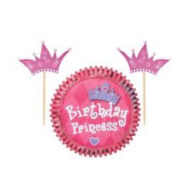 Kit Decorazione Cupcake Principessa